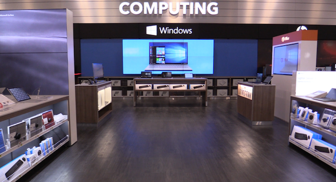 Microsoft Invests Big In Retail Interactive At Canadian Best Buys