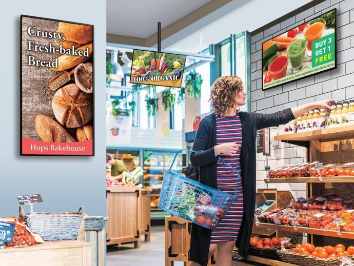 Sharp Broadens Options For Smart Signage With Two New 24/7 Android-based Displays
