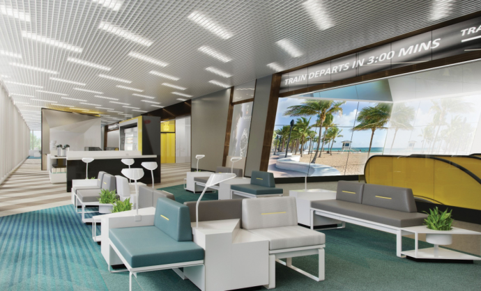 New Miami Rail Terminal Boasts 325 LED & LCD Screens