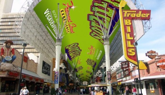 Watchfire Wins $30M Deal For Refreshed Fremont Street LED Canopy