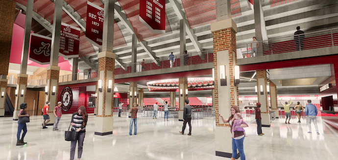 Biz Dev Alert: LED-Palooza Planned At Crimson Tide's Main Sports Venues