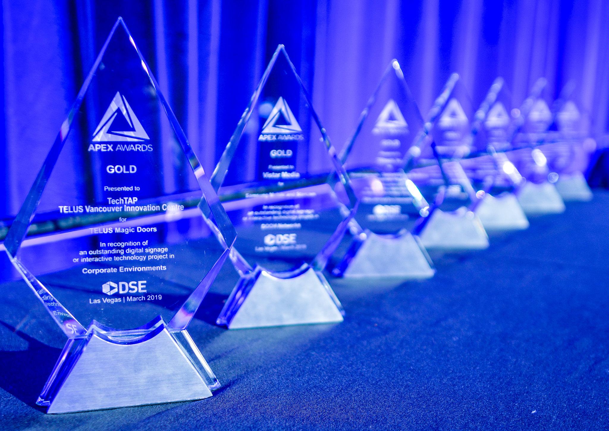 DSE's Apex Awards Being Announced Today Via Digital Signage ...
