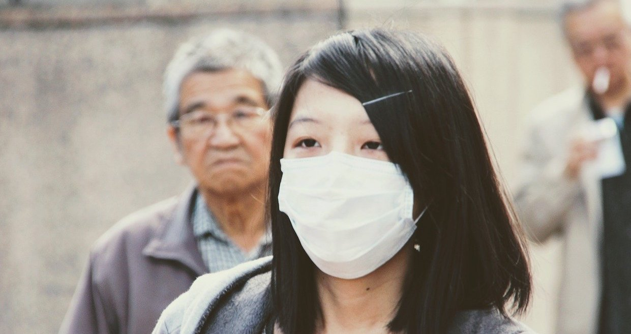 woman in mask - China