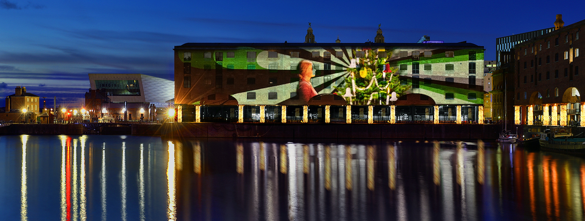 Merseyside projection mapping