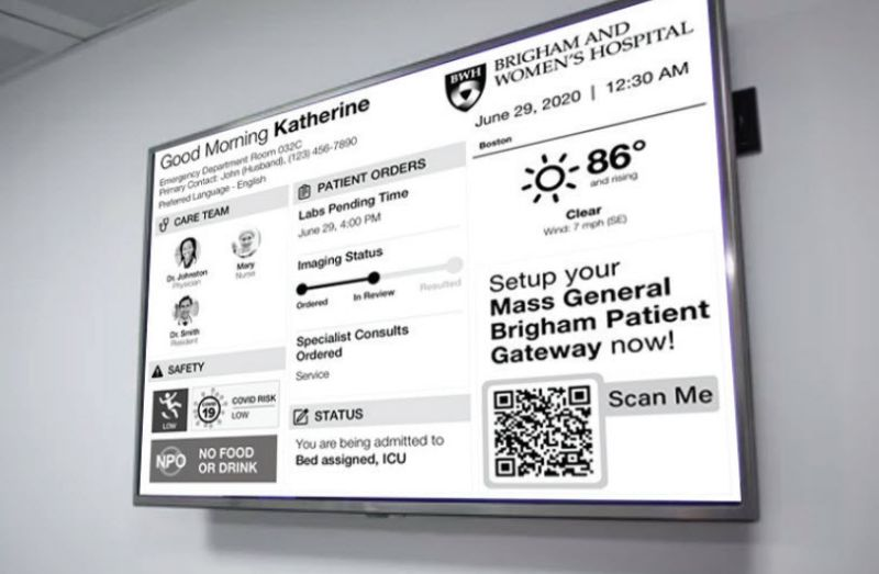 Study Suggests High Affinity For Digital Messaging Displays In Patient Care Environments